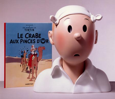 © 1996 Hergé/Moulinsart • Photo © 1994 Luc de Champris